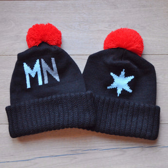 Talisman Loons MN United FC Bobble Hat / Soccer Hat