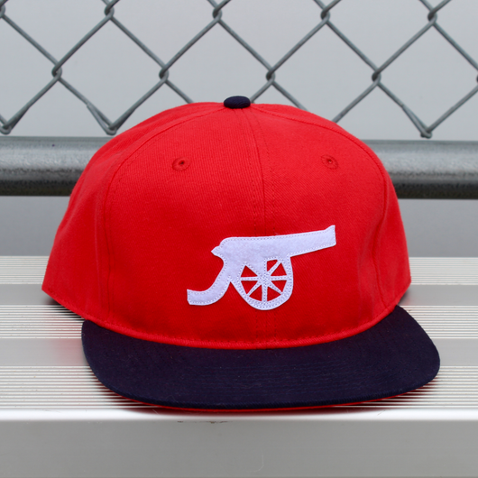 Talisman & Co. Gunners Cap | Arsenal Hat | Soccer Caps