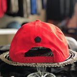 Support Local Fútbol 6-Panel Cap - Red