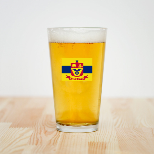 Talisman & Co. | Saint Paul Minnesota Flag Pint Glass