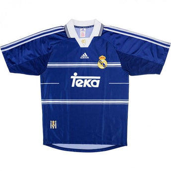 Real Madrid 1998-99 Adidas Away Jersey