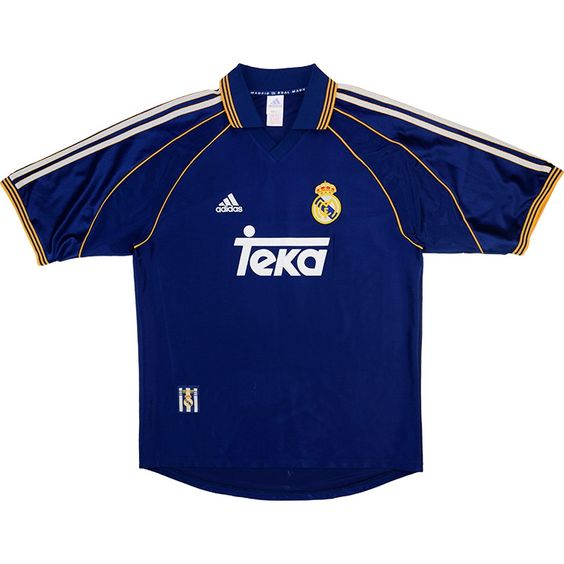 buy popular 73242 a7cf6 Real Madrid 1998-99 Adidas Third Jersey