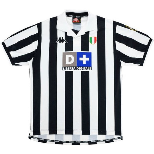 sports shoes 6a139 c4f1f Juventus 1999 Kappa Home Jersey