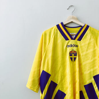 Sweden 1994 Adidas Home Jersey