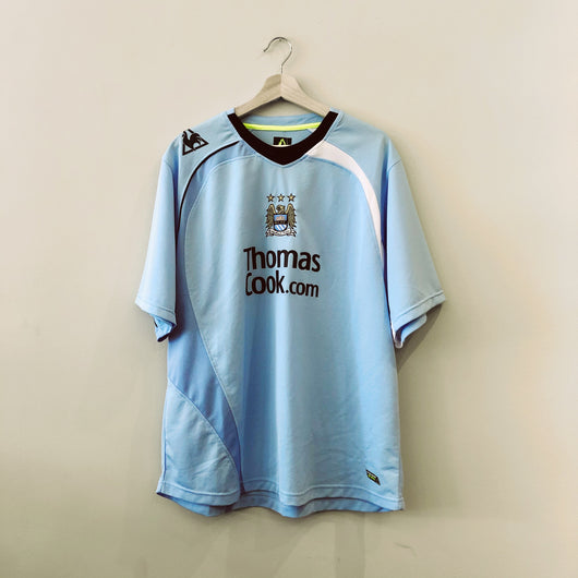 Manchester City 2008-09 Le Coq Sportif Home Jersey