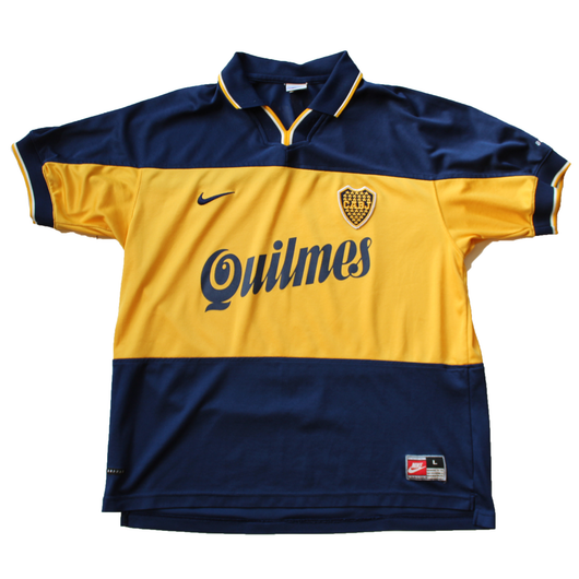 best website 9431a 3bd13 Boca Juniors 1999-2000 Nike Home Jersey
