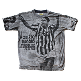 Roberto Baggio Vintage All-Over-Print Tee