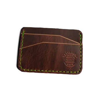 Talisman & Co. | USA Made Minimalist Wallet - Dark Brown
