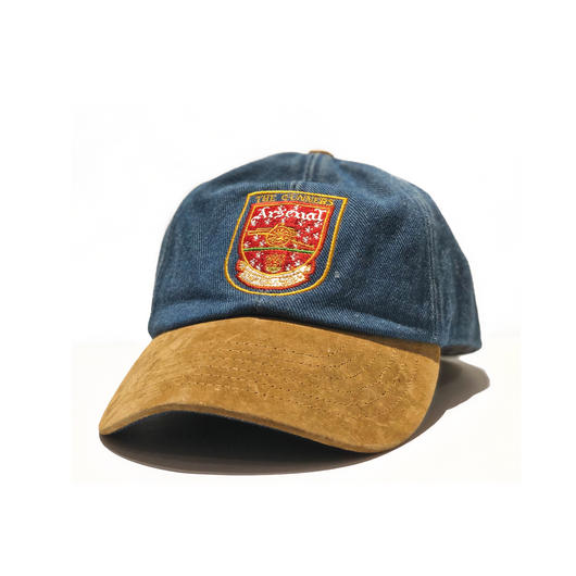 Arsenal Denim Dad Cap
