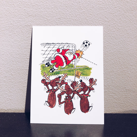 Vintage Christmas Card - Cheers for the Holidays