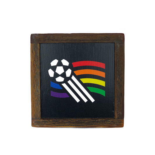 Talisman USA '94 Reclaimed Wood Box Art