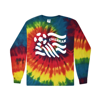 Talisman Rainbow Tie Dye Long Sleeve Tee