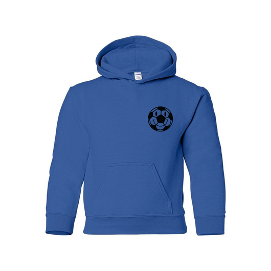 Kids Happy Ball Hoodie - Blue