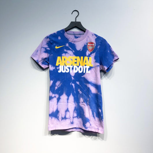 Arsenal Just Do It Nike Acid Washed Tee