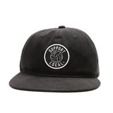 Support Local Fútbol 6-Panel Cap - Black