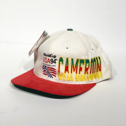 Cameroon 1994 World Cup Snapback