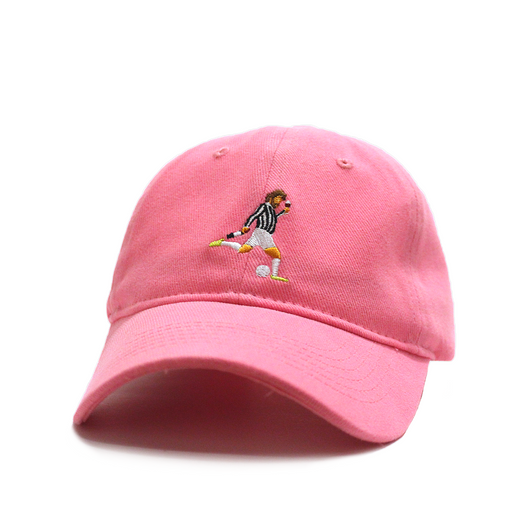Talisman & Co. | No Vino, No Party Pink Dad Cap | Andrea Pirlo