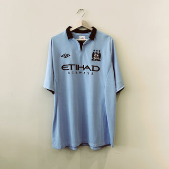 Manchester City 2012-13 Umbro Home Jersey