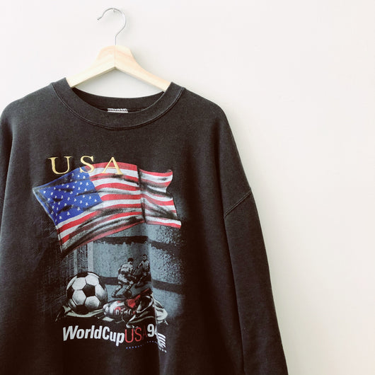 Talisman & Co. | Vintage Nutmeg USA '94 World Cup Crewneck