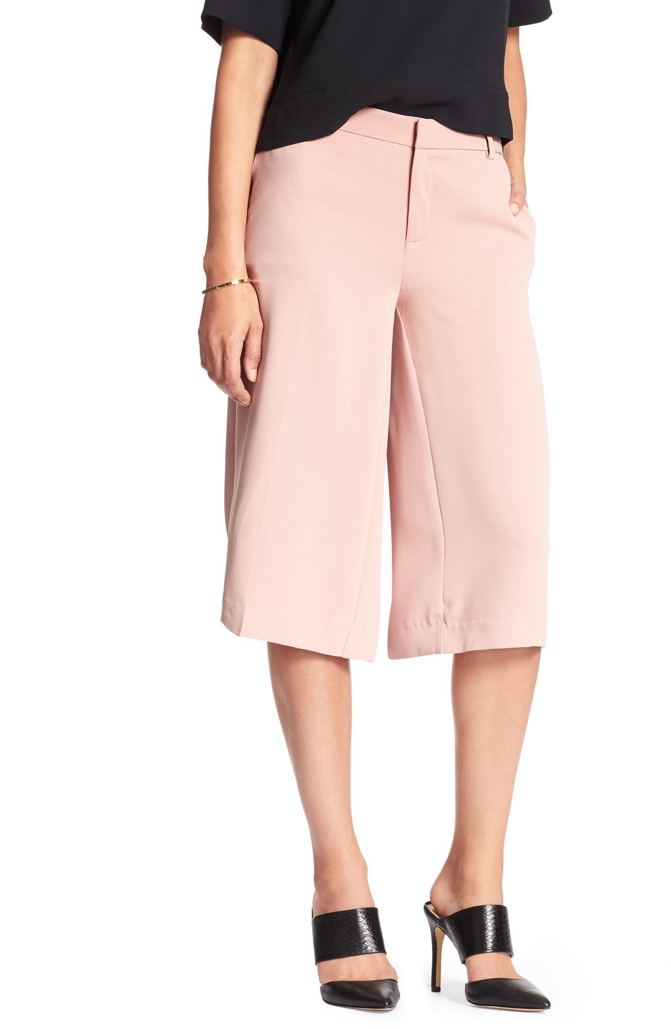 Banana Republic Wide-Leg Culotte
