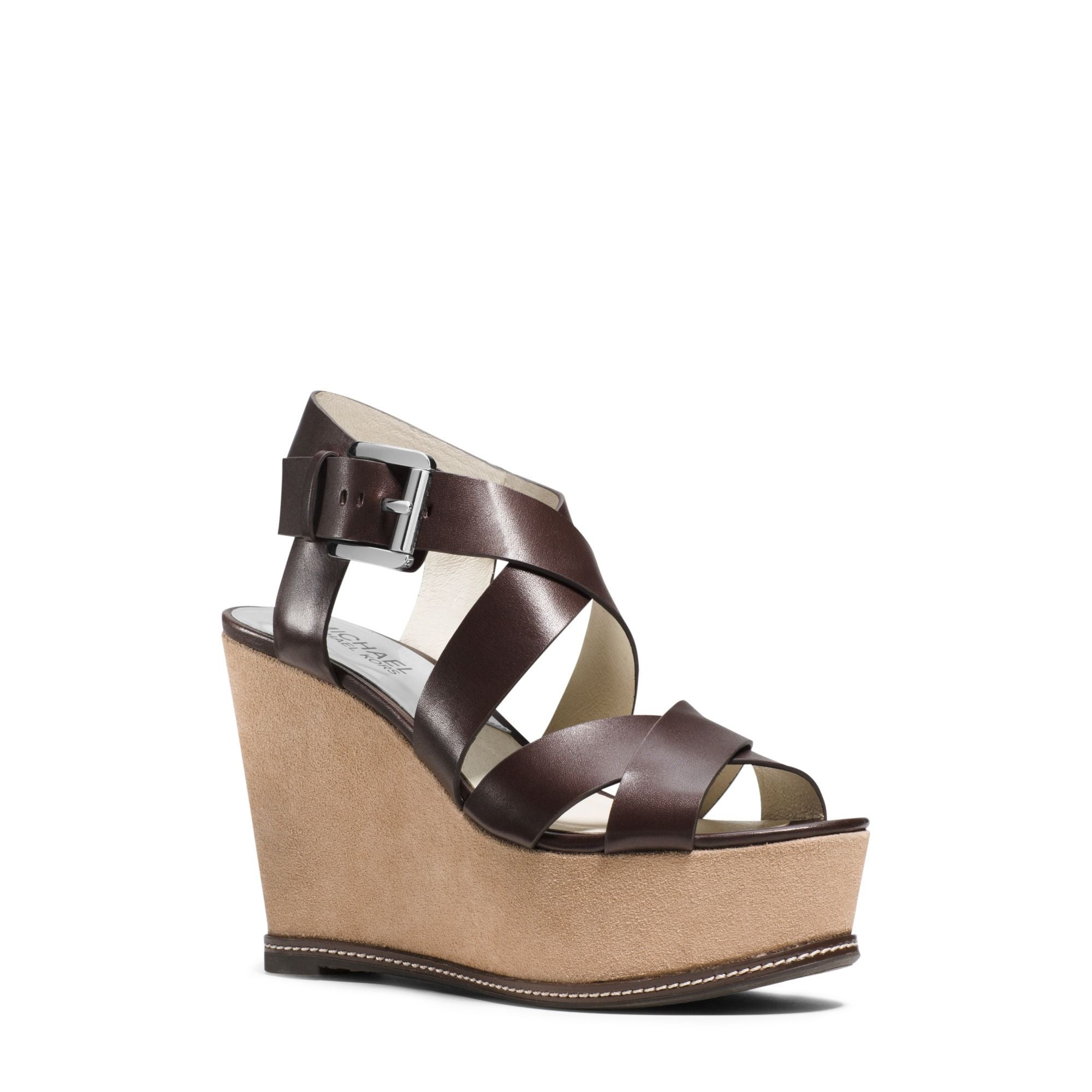 MICHAEL KORS Celia Mid Wedge Sandals shoes