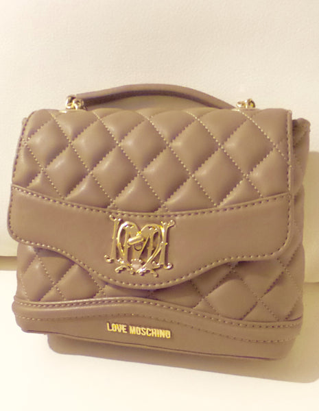 Love Moschino Quilted Mini leather Shoulder Handbag/Accessories