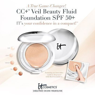 It Cosmetic cc+ Veil Compact Founda Make-up