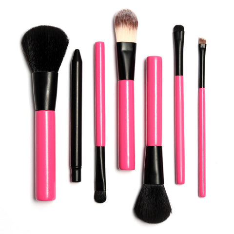 5 Pcs Oval Shape Toothbrush Makeup Brushes Black without Box