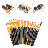 NAKEHOUSE-20Pcs Makeup Brushes Set,Multiple brushes