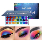 Beauty 39 Color Fusion Rainbow Matte Shimmer Pigment Eye shadow Palette