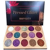 NAKEHOUSE-Beauty Pressed Diamond Glitters Shimmer and Matte Makeup Eyeshadow Palette,Eye shadow