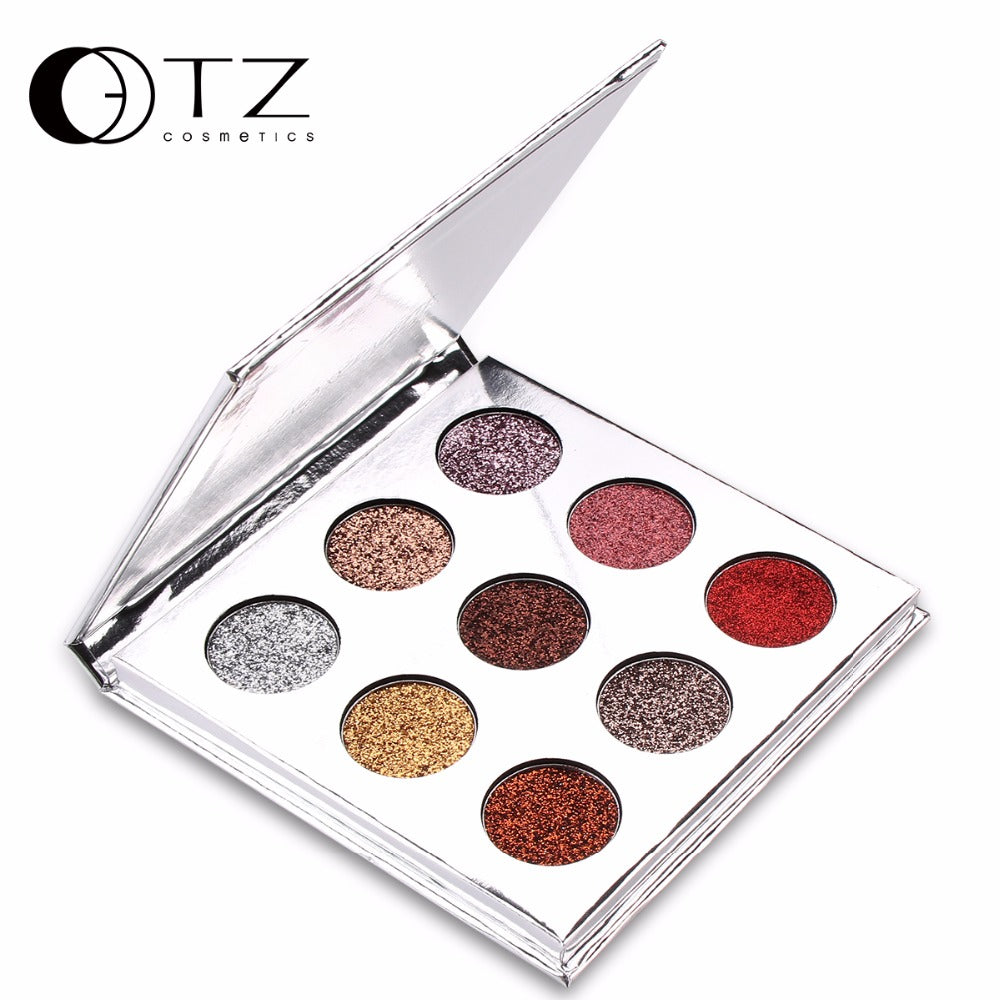 NAKEHOUSE-9 Colors Bright Diamond Glitter  Eyeshadow Palette,eye shadow