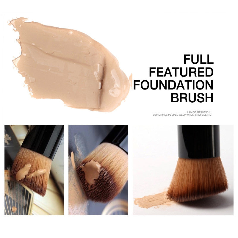NAKEHOUSE-Foundation Blush Cream Flat Top Buffing Brush,Single brush