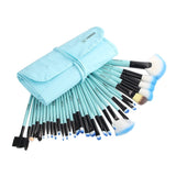 NAKEHOUSE-32 Pcs Make Up Cosmetics MULTIPURPOSE Brush + Bag,Multiple brushes