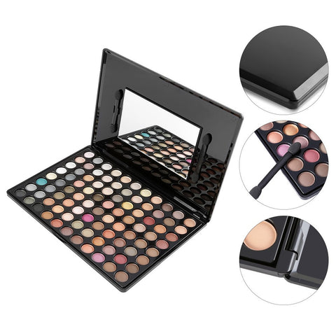 3 Colour EYEBROW Powder/Shadow Palette Enhancer w/ Ended brush
