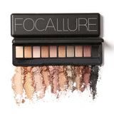 NAKEHOUSE-Focallure 10 Colors Shimmer Matte Eyes hadow,eye shadow