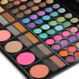 NAKEHOUSE-Professional 78 Colors Makeup Colorful Eyeshadow Palette Kit Set With Mirror,eye shadow