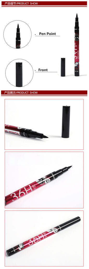 NAKEHOUSE-Waterproof Black Eyeliner Liquid Make Up Beauty Comestics Eye Liner Pencil,Eye Liner