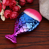 NAKEHOUSE-Mermaid Fish Powder Foundation Brush,Single Brush