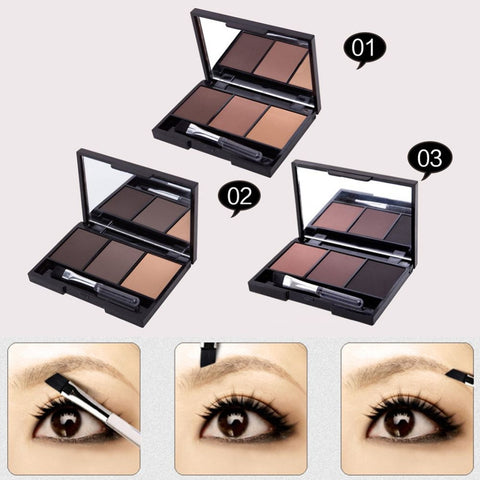 Professional 78 Colors Makeup Colorful Eyeshadow Palette Kit Set With Mirror