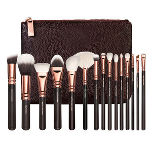 NAKEHOUSE-15pcs COMPLETE  Makeup Brush Set,Multiple brushes