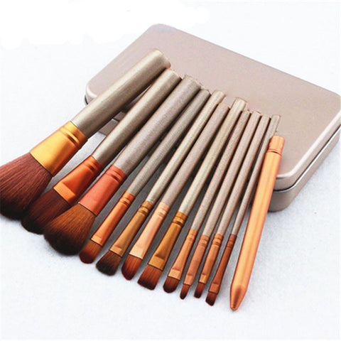 32Pcs  Professional Cosmetic Make Up Brush with Black Bag