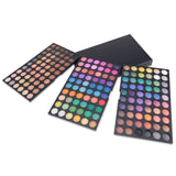 NAKEHOUSE-180 Colors Eyeshadow Makeup Eyeshadow Palette 3 Layer,Multiple brushes
