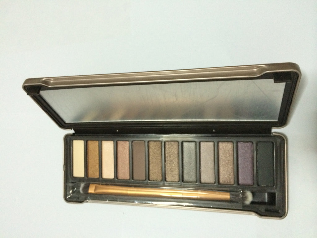 NAKEHOUSE-NAKE NK2 – 12 Colors Matte Eyeshadow Palette with Brush and Mirror,eye shadow