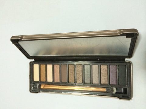 12 Colors Make Up Set Nudes Naked Eyeshadow Pallete