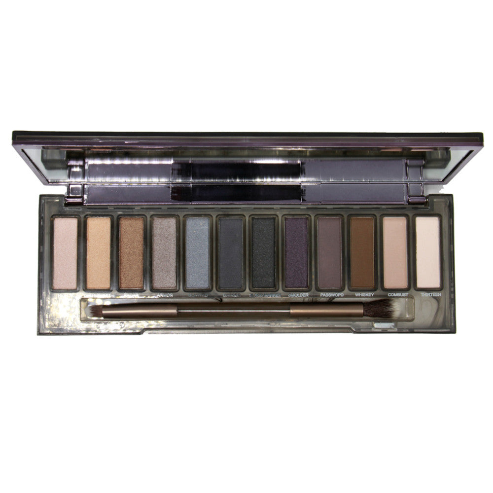 Natural Eyeshadow Makeup Cosmetics Eye Shadow Palette 12 Color Matte