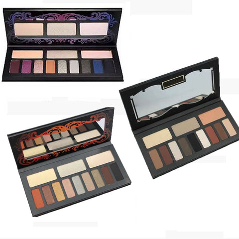 Professional 39 Colors Waterproof Natural Eyeshadow Founfation Blush Lip Powder Palette Set