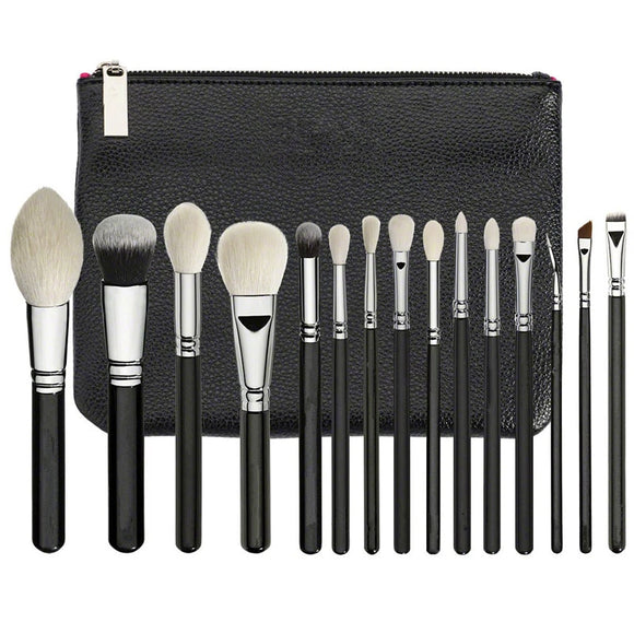 ZOE Professional 15PCS makeup brush set + brush bag