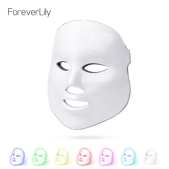 Facial LED Anti-Aging Therapy Mask
