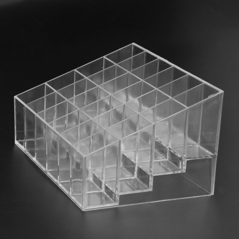 NAKEHOUSE-24 Grid Acrylic Makeup Organizer  Cosmetic Lipstick  Case Holder Stand Storage Box,Tools